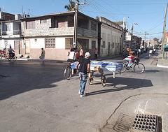 Transporte de colchon / Matress transportation / Transport de matelas