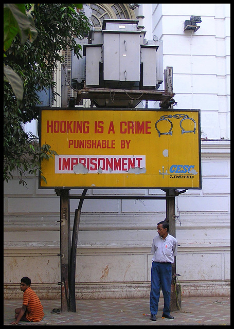 Hooking is a crime