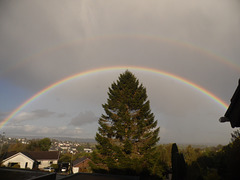 Double rainbow October 4th