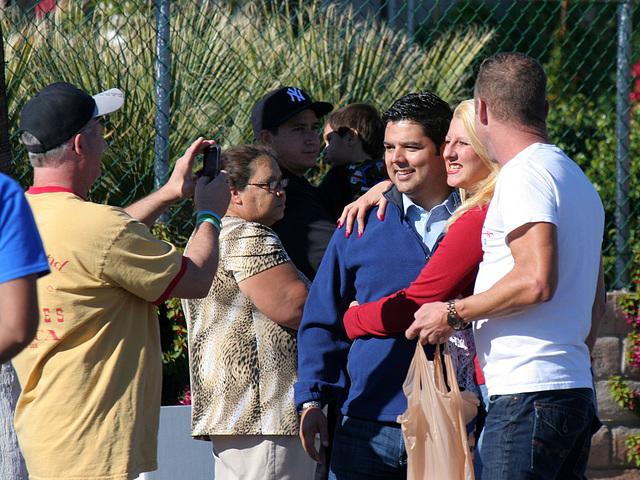 Congressman Raul Ruiz at DHS Holiday Parade 2012 (7745)