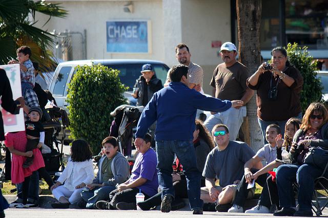 Congressman Raul Ruiz at DHS Holiday Parade 2012 (7765)