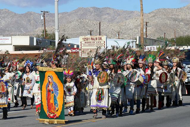 DHS Holiday Parade 2012 - St Elizabeth of Hungary Roman Catholic Church (7840)