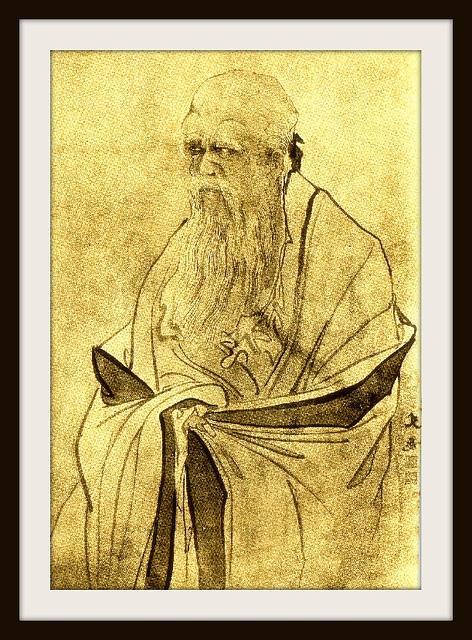 Laocio laŭ ĉina lignogravuraĵo