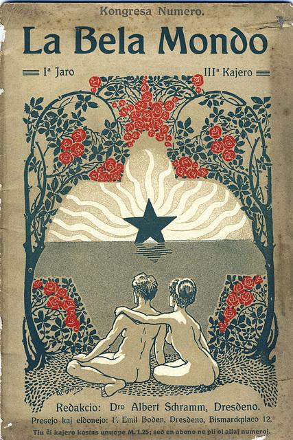 Gazeto La Bela Mondo 1908/3