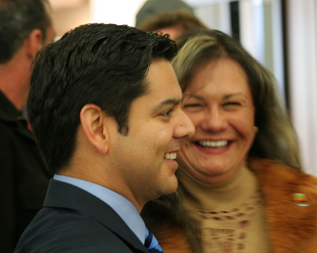 Congressman Ruiz & Lupe Ramos (8611)