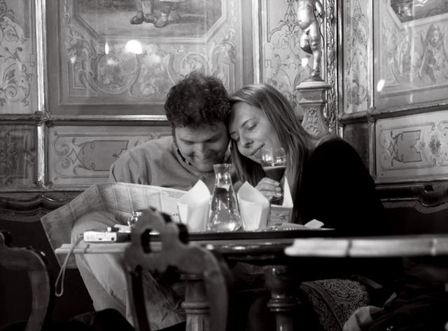 """Venise amoureux : """"la femme penchée"""""""