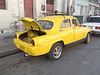 Petite cubaine jaune/ Cute yellow cuban car / Coche amarillo.
