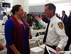 Olympian Sarah Robles & Fire Chief Pat Tomlinson (4072)