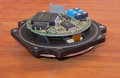 Optischer Inkrementalgeber:   Teil eines  Werkzeugmaschinen Servomotors