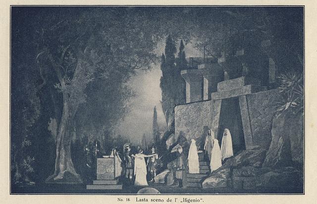 "La lasta sceno el ""Ifigenio en Taŭrido"" de Goethe"