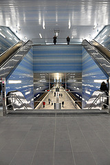 Hall of U-Bahn