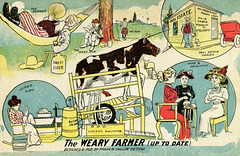 The Weary Farmer (Up to Date), by Frank W. Swallow