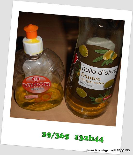 29/01.......huile ....et dégraissant.......