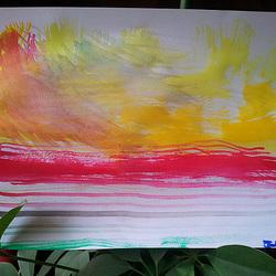 Peinture de Julien A. (7ans)
