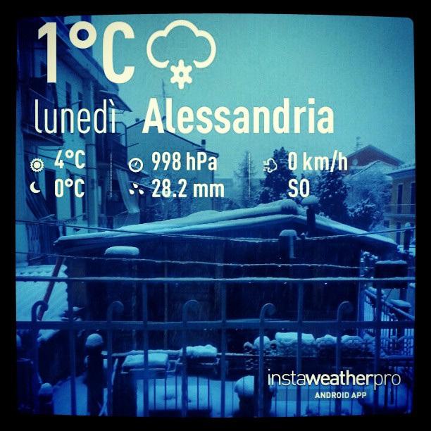 Buongiorno da Alessandria Alto Adige