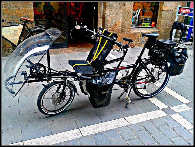 Bicicleta familiar.