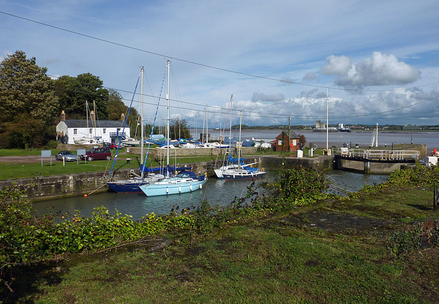 Lydney harbour and canal