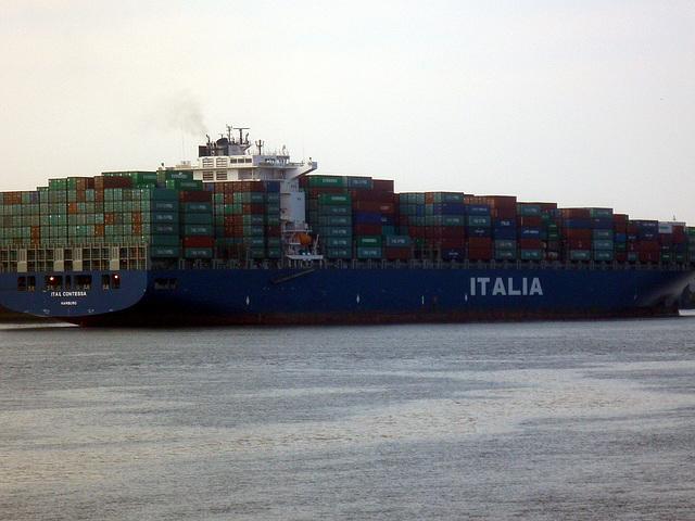 Containerschiff  ITAL  CONTESSA