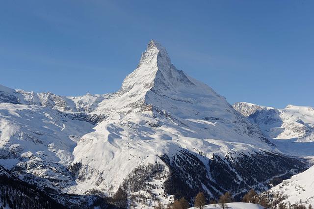 Le Cervin (4478 m. alt.)