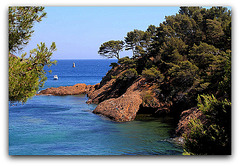 la côte à La Ciotat