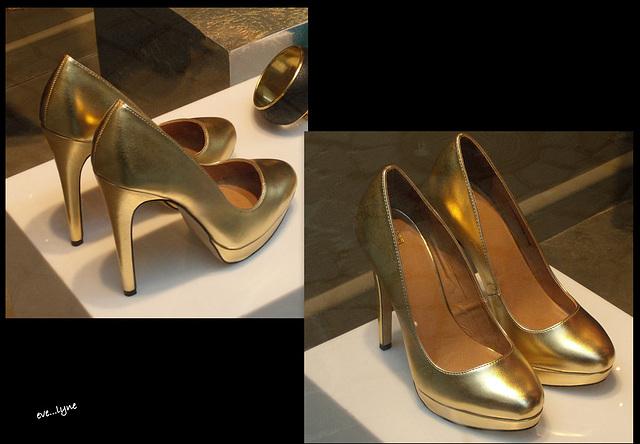 Chic et classe / Classy high heels shoes display - Eve.....Lyne : Photographe.