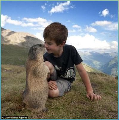 marmottes-et-enfants-autriche