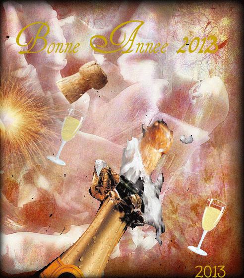 BONNE ET HEUREUSE ANNEE 2013 Au menu 2013 : velouté de santé, hors d'œuvres de bonheur, filet d'amour sauce tendresse et café d'amitié