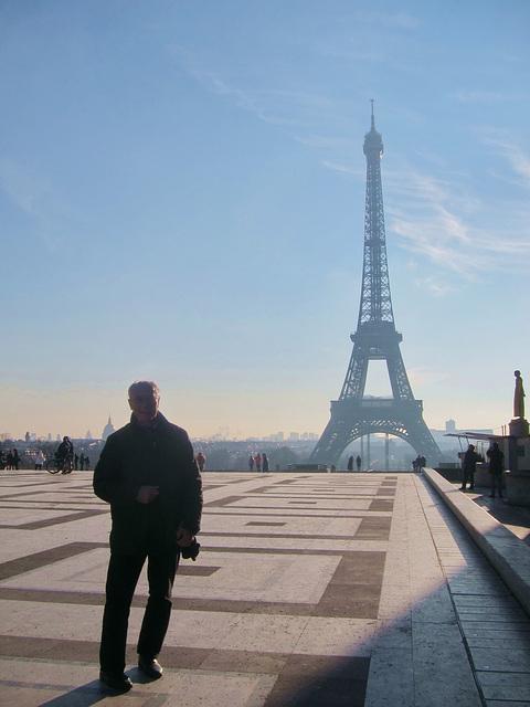 morgens in Paris
