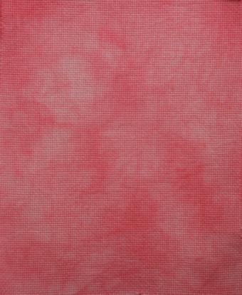 Pink Hand-dyed Aida 2