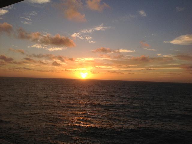 Vers Santa Cruz de Tenerife ,un soir