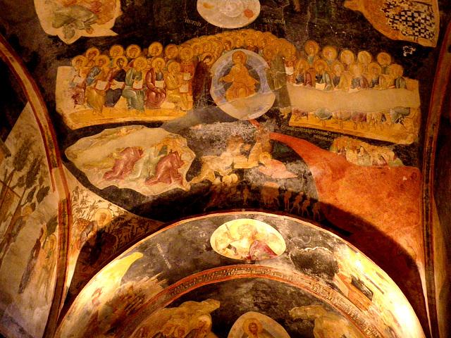 Exonarthex : Christ Pantocrator.