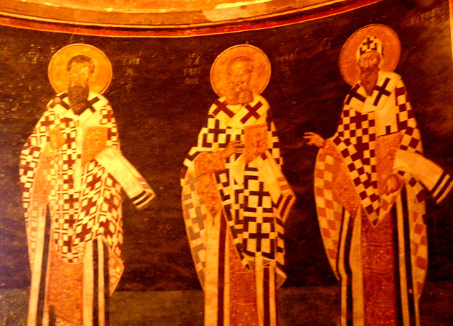 Saints présidant l'Anastasis.