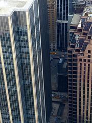 Depuis le 67e étage du Rockefeller Center