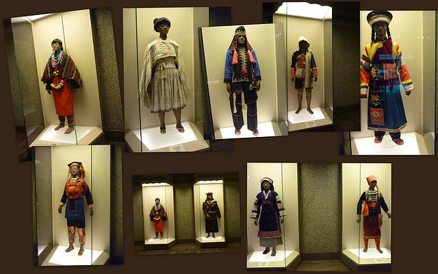 Musée de Shanghai.... Costumes traditionnels
