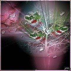 L'arbre à bonheur ...je vous l'offre ........