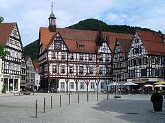 Marktplatz mit Rathaus (Bad Urach)