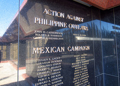 Medal Of Honor Memorial at Riverside National Cemetery - Action Against Philippine Outlaws (2485)