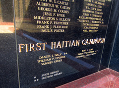 Medal Of Honor Memorial at Riverside National Cemetery - First Haitian Campaign (2486)