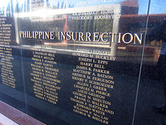 Medal Of Honor Memorial at Riverside National Cemetery - Philippine Insurrection (2488)
