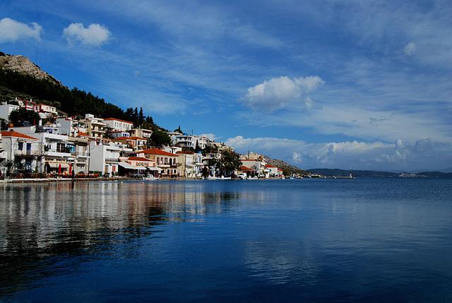 Lagadas village,Chios island.