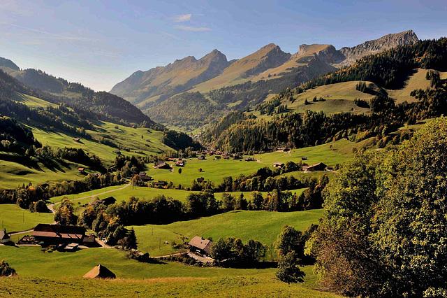 La vallée de la Jogne...