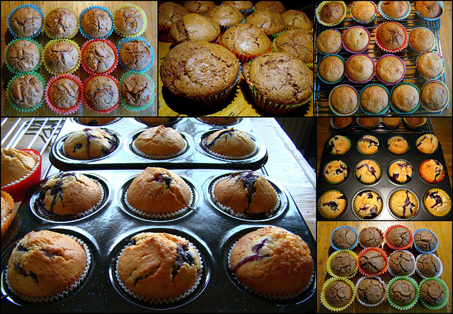 en nog wat muffins...