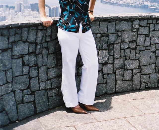 Mon amie / My friend Rita  - Vive les Brésiliennes !!!  19 novembre 2004 / Recadrage