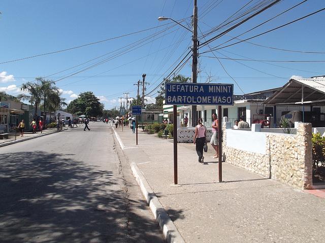 Mujeres cubana en la Jefatura Minint zona - 19 mars 2012.