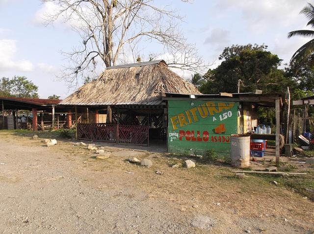 Frituras à $1.50 - Pollo asado y comida à $2.00 - 20 janvier 2013.