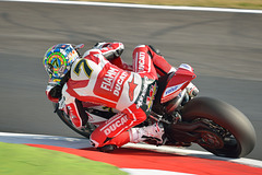 Chaz Davies on Ducati 1199 Panigale R