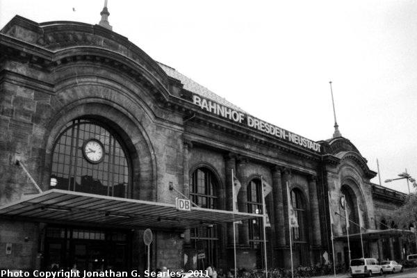 Bahnhof Dresden Neustadt, Picture 2, Edited Version, Dresden, Saxony, Germany, 2011