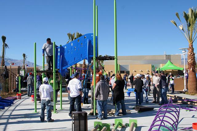 Kaboom Playground Construction (8771)