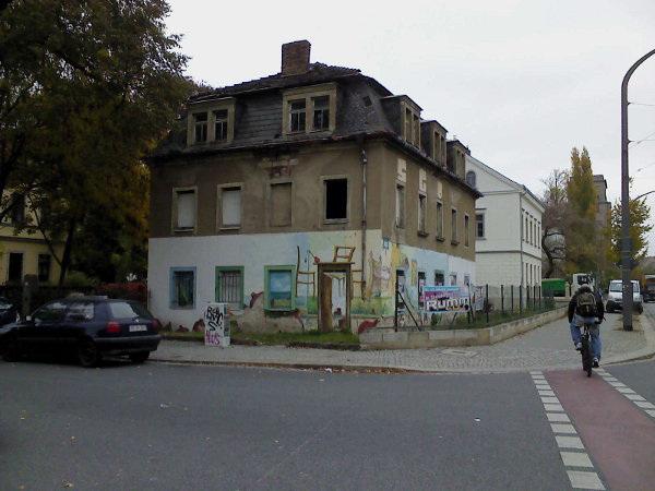 Arty Building, Neustadt, Dresden, Saxony, Germany, 2011