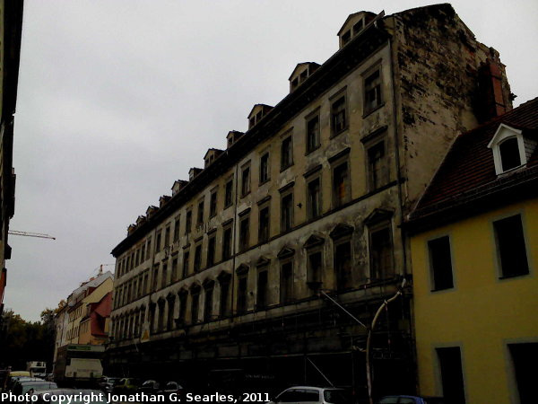 Large Unknown Building in the Neustadt Baroque Quarter, Dresden, Saxony, Germany, 2011